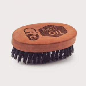 Beard Brush Beyer's Oil